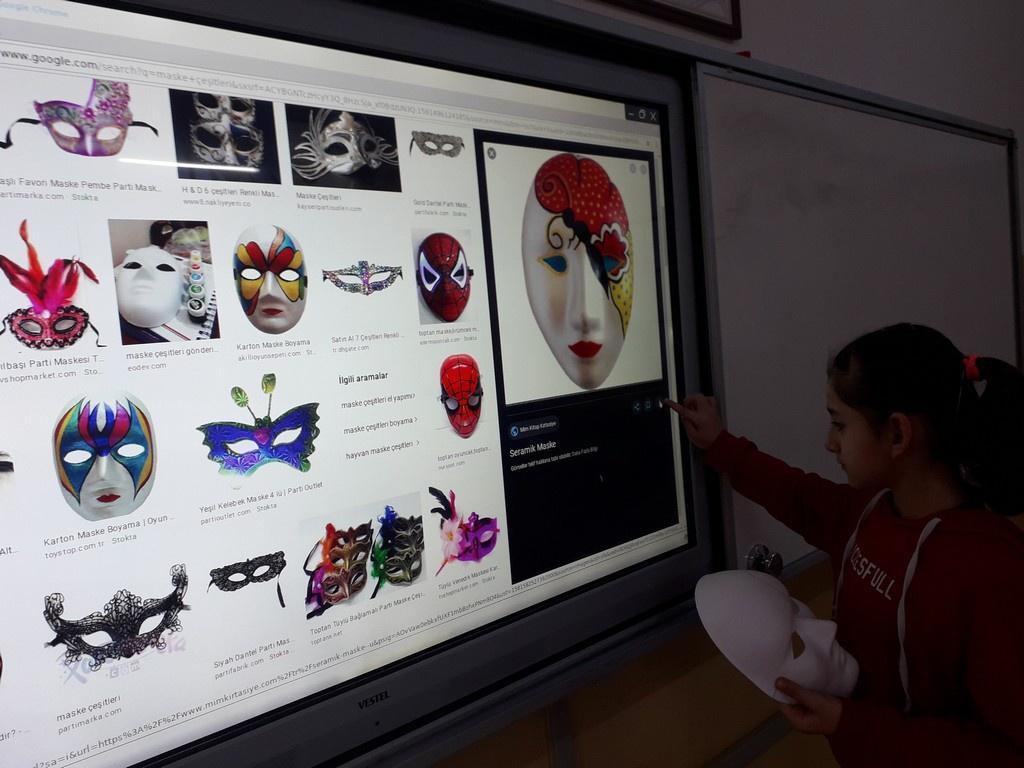 6 Siniflarimizin Maske Calismalari Gazi Ortaokulu